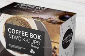 05 K Cups Coffee Box Mockup