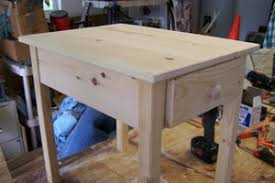 free end table plans for woodworking beginner to be built with