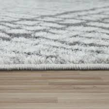 tapijten kurzflor teppich wohnzimmer modern geometrisches