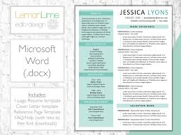 Resume Template For Word Single Page | Green Modern Creative Word Resume |  CV Resume + Cover Letter + References | Instant Download Resume Mla Format Everything You Need To Know Here Resume Reference Page Template Teplates For Every Day Letter Of Recommendation Samples 1213 Sample Ference Pages Resume Cazuelasphillycom Writing Persuasive Essays High School Format New Help With Rumes Awesome Example Cover Letter Samples Check 5 Free Templates In Pdf Word 18 Job Ferences Page References Sample With Amp