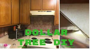 Diy Backsplash Ideas For Kitchen by Diy Kitchen Backsplash 5 00 Dollar Tree 2017 Youtube