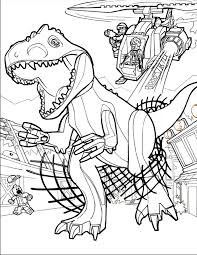 Download Coloring Pages Jurassic Park For Kids