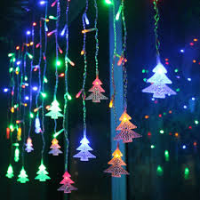 Connect 5M 35M Led Curtain Christmas Tree Icicle String Lights Fairy New Year Wedding Party Decoration In LED From