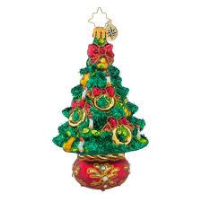 Christopher Radko Five Golden Rings Trees Christmas Ornament