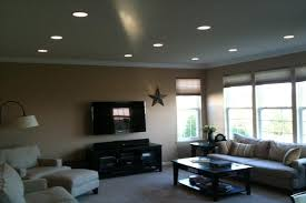 ideas for recessed lighting in living room best info