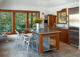 10 Practical versatile and multifunctional rolling kitchen islands