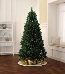 Ge Pre Lit Christmas Tree Replacement Bulbs by 7 5 Foot Quick Set Up Christmas Tree Fast And Festive With Kmart