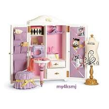 American Girl Isabelle s DANCE STUDIO Furniture SEWING Set for