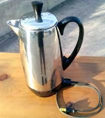 Farberware 4 Cup Percolator Vintage Eoilsco