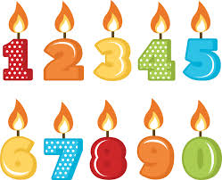 Birthday Candles Numbers PNG Picture 1 210x170 Birthday Candles PNG Transparent Free
