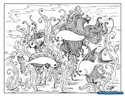 Coloring Pages For Teenagers Difficult Color By Number The Letter I