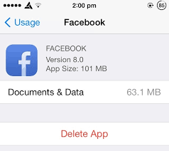 to clean documents & data and junk files from iPhone