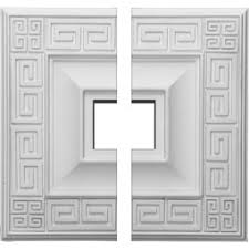 Small Two Piece Ceiling Medallions by Two Piece Ceiling Medallions Ceiling Medallions Shop Diy