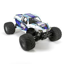 100 Losi Trucks Monster Truck XL 15 4WD RTR In White LOS05009T2 RC Car