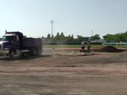 Aug 22 Optimist Park Field Renovations: New Top Soil Going In, After ...