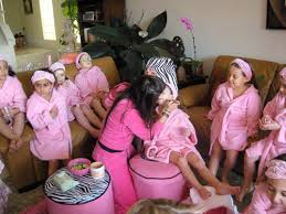 Little Girls Spa Birthday Parties