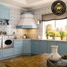 estel mediterrane landhausküche l form küche massivholz aschblau mit weißer patina