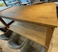 esszimmertisch oak ausstellungsstück dänisches bettenlager