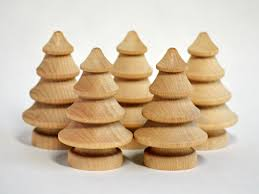Driftwood Christmas Trees Nz by Wooden Christmas Tree 5 Small Unfinished Blank Wooden