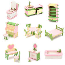 Diy Dollhouse Miniature Wooden Furniture Led Kit Japanese Style