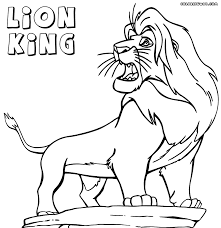 Awesome Free The Lion King Cartoon Coloring Pages For Kids