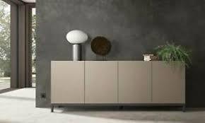 details zu sideboard anrichte buffet 4 türen wohnzimmer esszimmer modern italienische möbel