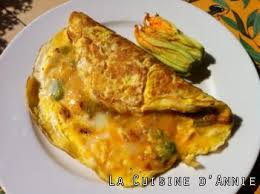cuisiner fleur de courgette recette omelette aux fleurs de courgettes la cuisine familiale
