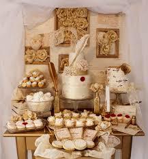 Lace Love Letters Dessert Table