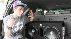 100 Best Truck Speakers Memphis 12 Subwoofers And Sony Bluetooth Stereo YouTube