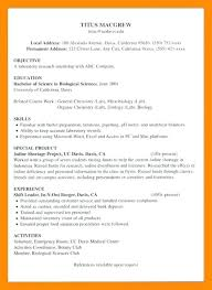 Resume Examples For Internship And Get Ideas To Create Your