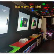 Video Game Truck Rental | Travel Guide Location Tour Destination Video Game Truck Gallery Levelup Mobile Rental Windy City Theater Kids Birthday Party Galaxy Best Idea In Pa Rolling Station Game Bus Buckeye Laser Tag Columbus And Brooklyn New York Gamesoutdoor Eventsparties Experiential Food Games Players Itructions Home Massachusetts