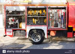 Firefighter Truck Tools Stock Photos & Firefighter Truck Tools Stock ...