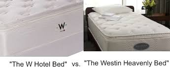 the w hotel bed vs the westin heavenly bed part one have