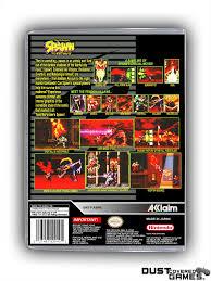 Spawn: The Video Game SNES Super Nintendo Game Case Box Cover Brand ...