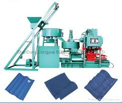 cement roof tile machine machinery automatic tile