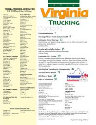 100 Wilson Trucking Richmond Va 2014 Virginia Association