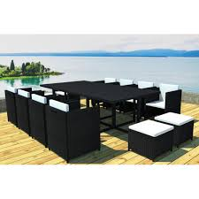 tables de jardin en resine salon de jardin resine tressee 4 places spitpod