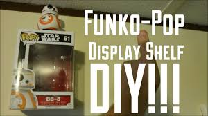 Funko Pop Display Shelf Diy Image With Breathtaking Shelves For Collectibles Vintage Wood Wall Small