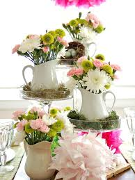 Colorful Spring Table Setting