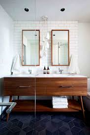 Uncategorized Mid Century Modern Bathroom Vanity Inside Elegant In ... Small Mid Century Modern Bathroom Elegant Inspired 37 Amazing Midcentury Modern Bathrooms To Soak Your Nses Design Vanity Hd Shower Doors And Paint In Remodel Floor Tile Best Of Ideas For Best Mid Century Bathroom Style Project Sewn With Metro Curtain 74 Most Magic Transform On Interior
