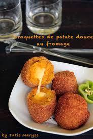 comment se cuisine la patate douce les croquettes de patate douce coeur fondant au fromage