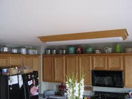 Ideas Decorating Above Kitchen Cabinets Decor