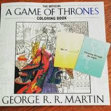 Game Of Thrones Coloring Book Gameofthrones Coloringbook Creativity Babyshowergame