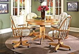 Wonderful Dining Chair On Casters Siltmedia
