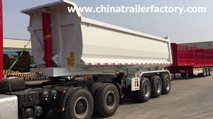 Rear Tipper Trailer 3 Axle 40ton U Dump Truck Trailer For Transport ... Western Star Triaxle Dump Truck Cambrian Centrecambrian 2018 Peterbilt 567 Triaxle Missauga On And 2017 Used Freightliner M2106 Tandem At Valley Peterbilt 348 Allison Automatic Reefer Quint Axle Flips Youtube 2019 114sd Rhode Island Center Tri Trucks For Sale Variations Of The Deuce Deuce Truck Site Capacity Pickup Caps Andr Taillefer Ltd