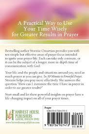 10 Minutes To Powerful PrayerHarvest House