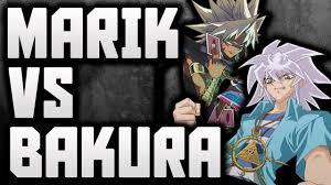 yugioh bakura character deck yu gi oh marik ishtar yami marik vs ryo bakura yami bakura