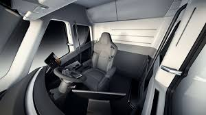 This Is The Tesla Semi Truck - The Verge Truck Seats Blog Suburban Seat Belts Heavy Duty Big Rig Semi Trucks Gwr Slamitruckseatsinterior Teslaraticom Suppliers And Manufacturers At Alibacom Cover Standard 30 Inch Back Equipment Covers Llc Km Midback Seatbackrest Kits Coverall Waterproof Custom Seat Covers From Covercraft Tennessee Highway Patrol Using Semi Trucks To Hunt Down Xters On Wrangler Series Solid Custom Fia Inc Car Interior Accsories The Home Depot Coverking Cordura Ballistic Customfit