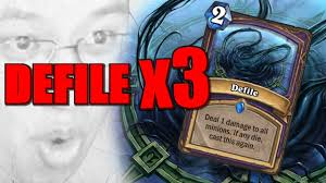 TRIPLE DEFILE ARENA! | The Boomsday Project | Hearthstone Arena ...