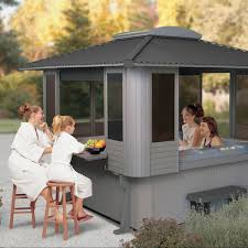 Sequoia Spa Shelters - Valley Spa Doctor Lodge Dog House Weather Resistant Wood Large Outdoor Pet Shelter Pnic Shelter Plans Wooden Shelters Band Stands Gazebos Favorite Backyard Sheds Sunset How To Build Your Dream Cabin In The Woods By J Wayne Fears Mediterrean Memories Show Garden Garden Zest 4 Leisure Ashton Bbq Gazebo Youtube Skid Shed Plans Images 10x12 Storage Ideas Blueprints Free Backyards Trendy Neenah Wisc Family Discovers Fully Stocked Families Lived Their Wwii Backyard Bomb Bunkers Barns And For Amish Built Amazoncom Petsfit 2story Weatherproof Cat Housecondo Decoration Best Bike Stand For Garage Way To Store Bikes